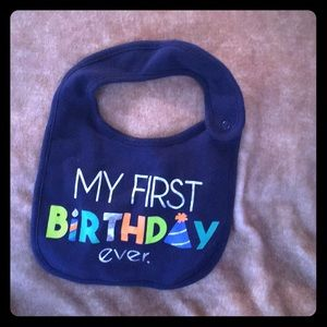 My first birthday ever ! Carters
